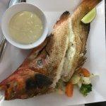 Gran sabor y pescado fresco