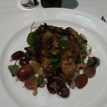 Grilled Quail with Spelt, Grape & Caperberry Salad