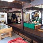 扇屋伝承文化館の内部