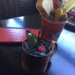Huckleberry Mule & Demetri's Bloody Mary