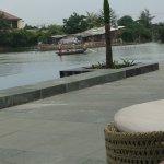 Pool by riverside