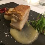 Entree - Pork Belly and Scallop