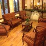 The Tea lounge and sitting area