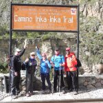 The start of our 4 day Inca Trail