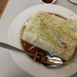 Steamed Tofu - refreshing !