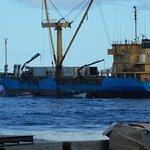 The supply ship