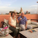 G&T on the roof terrace