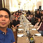 Group selfie with friends for Iftar Dinner 2017