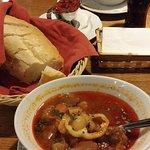 Stex House's tasty and soupy goulash.