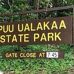 Tantalus Lookou - Puu Ualakaa State Park