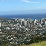 View from Tantalus Lookout - Puu Ualakaa State Park