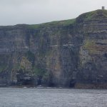 view to cliffs of moher highest point