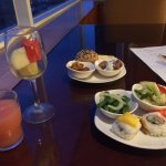 Tasty appetizers @ the executive lounge.