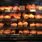 Look at this variety of pies.