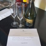 A small gesture from the hotel on my birthday!
