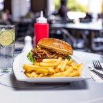 Frankie's Burger dish