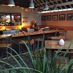 Le bar de la Kora dans le patio