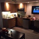 cuisine chambre familliale