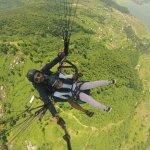 Had a wonderful experiment with captain Sandeep.Team5/paragliding/