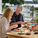 Frühstück Terrasse Restaurant Seapoint