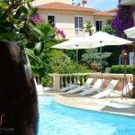Hotel Sainte Valérie - une vue de la piscine