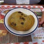 Tom's desert...large, soft, cookie