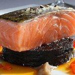 Home smoked salmon
