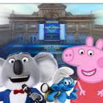 Sing Smurfs Peppa Pig  - Hollywood Cinema Great Yarmouth 2017