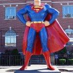 Photo of Superman Statue