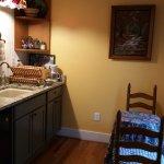 Kitchenette in Nelson Cottage