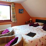 One of our double rooms with Super King bed