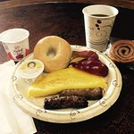 Sampling of complimentary Continental breakfast options