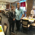 With Nishikant Astana, Hotel General Manager