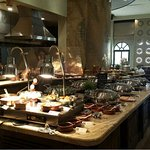 The Buffet Breakfast at Al Liwan was incredible!