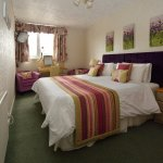 super king double bed or twin room