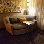 Room was spacious with up-to-date furnishings