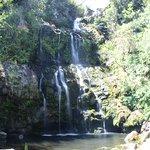 Waterfalls during hike