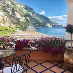 This was our terrace at the Covo dei Saraceni.. mindblowing view