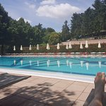 The pool was lovely and quiet on a Monday but busy with locals at the weekends.