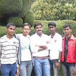 Memorable moment #out first IV @ooty botanical garden