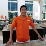 Inocente, the experience bar tender at the outside bar