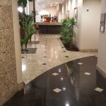 Lobby in front o elevators