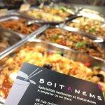 Petit aperçu de certains plats proposés à la Boitanems 😋