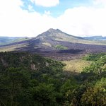 view of the volcano mt