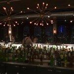 VIsta frontal do bar
