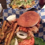 The Buffalo Chicken Sandwich was Ridiculously Awesome