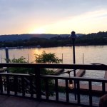 Backdrop for a perfect reunion! SpringHill Suites Chattanooga, right on the Tennessee River.