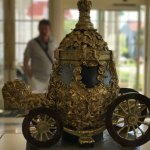 Cinderella's Coach made from Chocolate