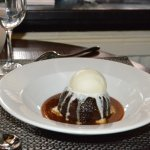 Many of our guests chose the sticky date pudding, and loved it.