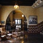 Lobby with Giant memorbilia